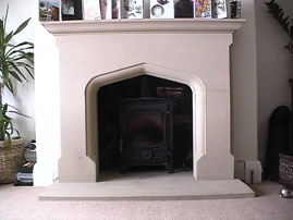 Fireplaces - Stonemasonry